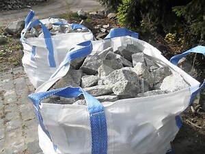 Gabionenfüllsteine Gabionensteine Bruchsteine 10-25 cm Big Bag 1 t
