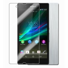 Skinomi Brushed Aluminum Phone Skin+Screen Protector Cover for Sony Xperia ZL