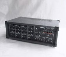 CLEAN - TOA MX-104 Four Channel Powered Mixer  Analog   Same Day Ship !