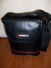 Ambico Camera/Movie Camera  Bag Hard shell Adjustable Inside Divider  New
