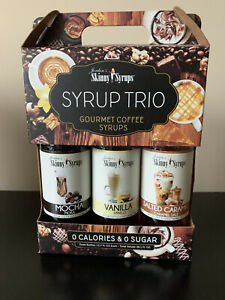 Jordan's Skinny Mixes | Classic Coffee Syrup Trio | Sugar Free 3 Pack | Salted |