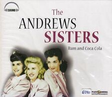 The Andrews Sisters + CD + rum and COCA COLA + album fantastico con 16 canzoni forte