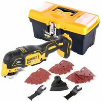 Dewalt DCS355 18V Brushless Oscillating + Accessories With 16'' Tool Storage Box