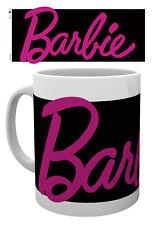 Taza de logotipo de Barbie