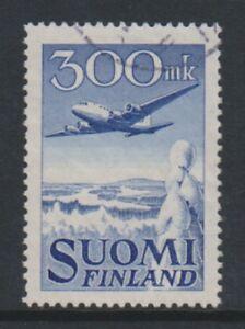 Finland - 1950, 300m Air stamp - F/U - SG 488 (a)