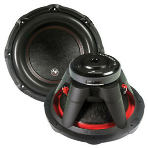 TXXBDC115 Audiopipe Subwoofer 1600W, Dual 4 Ohm Car Subwoofer NEW