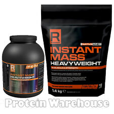 Reflex Instant Mass Heavyweight 2kg Or 5.4kg Mass Gain Protein From R Nutrition