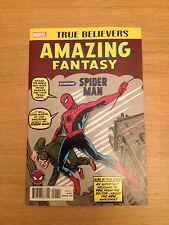 Amazing Fantasy #15 - First Spider-Man - True Believers Reprint - NM