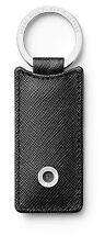 Rectangular Key Fob in Black Saffiano Leather - Graf von Faber-Castell
