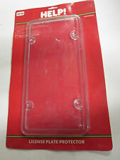 Clear License Plate Cover Shield Plastic Tag Protector