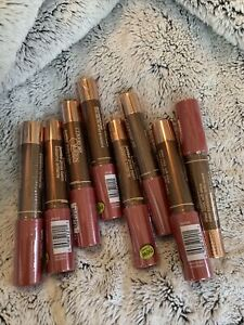 Set Of 8 CoverGirl Queen Jumbo Gloss Balm #Q805 Smooth Rose Sealed