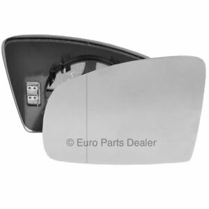 Left side Clip heated Wide Angle wing mirror glass for Vauxhall Meriva A 02-10
