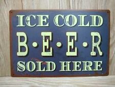 Man Cave Metal Decorative Plaques & Signs