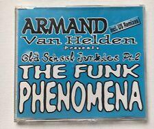 ARMAND VAN HELDEN - THE FUNK PHENOMENA 6 TRACK CD SINGLE