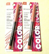 2 Revlon Colorstay Lip Liners #103 On Fire Lot Of 2 Carded + Free Ship