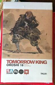 ThreeA Tomorrow King TK Oroshi 18 1/6 figure Ashley Wood 3A TK Club 1 Popbot NEW