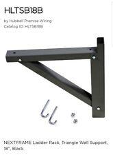 Hubbell HLTSB18B Ladder Rack Triangular Shelf Bracket