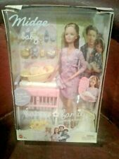 Barbie Happy Family Midge & Baby Doll Hard to Find Not Pregnant Version