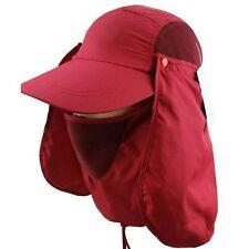 Outdoor 360 UV protection Sun block hat Folding visor fishing Nylon Cap hiking
