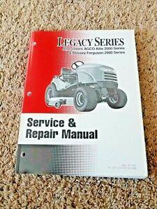 Simplicity 2000 Legacy Series/AGCO Allis/Massey Ferguson 2900 Service Manual
