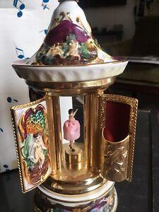 Reuge Porcelain Music Box Dancer 5898