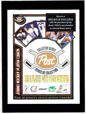 1994-95 Roots Store Counter Display with Wayne Gretzky, Free Box of Post Cereal!