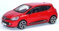 2012 Renault Clio Sammlermodell rot ca. 1:43 = 9,5 cm Neuware von BBURAGO