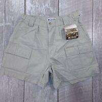 Columbia Ripstop Cargo Shorts Womens Size 10 Fossil Outdoor Bermuda SH236