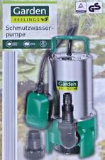 Schmutzwasser Tauchpumpe Gartenpumpe Wasserpumpe / NEU!