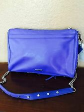 NWT XL Rebecca Minkoff Palo Alto Leather Crossbody Purse Tablet size $325 retail