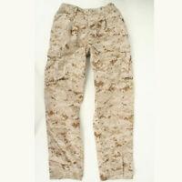USMC Desert Marpat utilities used MCCUU Small X-Short trousers pants SXS cammies