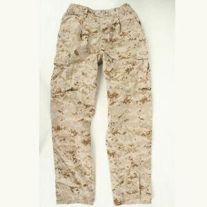 DEFECT flaw USMC Desert Marpat used MCCUU Medium Regular  trousers pants cammies