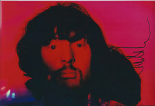 Nick MASON Signed Autograph 12x8 Photo AFTAL COA Pink Floyd Rock Band Authentic