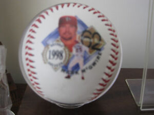 MARK McGWIRE Fotoball 1998 Record Breaker 62nd Home Run St Louis Cardinals MLB