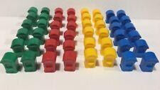 Monopoly Junior Jr Amusement Park 2005 replacement 48 TICKET BOOTHS parts pieces