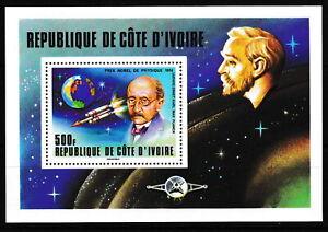 Elfenbeinküste - Nobelpreisträger Block 11 postfrisch 1978 Mi. 551
