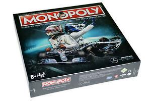 Mercedes AMG F1 Monopoly Silver Arrows Edition Lewis Hamilton Valterri Bottas