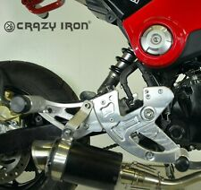 Crazy Iron STUNT Rearsets for HONDA GROM MSX125 13-16