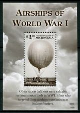 Micronesia 2015 MNH WWI WW1 Airships of World War I 1v S/S Aviation Stamps