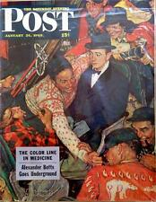 The Saturday Evening Post January 24, 1948 Norman Rockwell Cover - FULL MAGAZINE