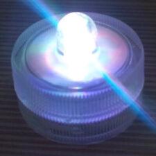 10 Pack~Colorful~Submersible Waterproof Underwater Battery LED Tea Light~Wedding