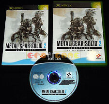 METAL GEAR SOLID 2 SUBSTANCE Xbox Versione Spagnola gioco in Italiano ○ COMPLETO