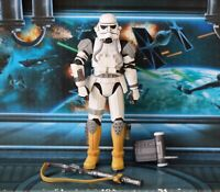 STAR WARS FIGURE 2007 30TH ANNIVERSARY IMPERIAL EVO TROOPER THE FORCE UNLEASHED