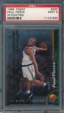 1998 Finest with coating #235 Paul Pierce RC PSA 9