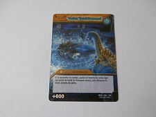 Carte Dinosaur King Vortex Tourbillonnant Aventure Spatio-Temporelles !!!
