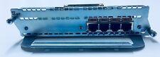 Cisco NM-4B-S/T 4-Port ISDN BRI Network Module 1 Yr. War. Free Ship World Qty 13