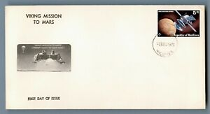 DR WHO 1976 MALDIVES FDC SPACE VIKING MISSION TO MARS  C240449