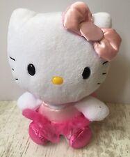 "Hello Kitty Ballerina /Ballet Small Plush Soft Toy 6"" Ty Sanrio"