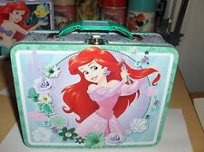 The Little Mermaid-2015`Childrens Metal Back To School Lunchbox`New-:>Free To US