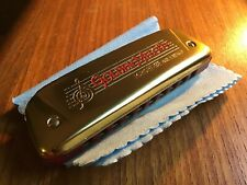 Hohner Golden Melody, With Golden Covers, Rare